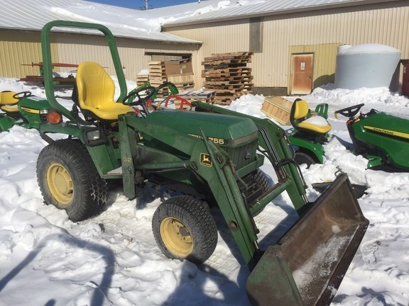 1986 John Deere 755 Tractor - Compact Utility For Sale