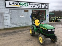 Tractor - Compact Utility For Sale 2001 John Deere 4100 , 19 HP