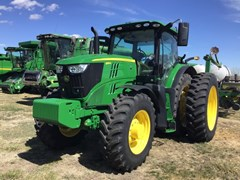Tractor - Row Crop For Sale 2018 John Deere 6195R