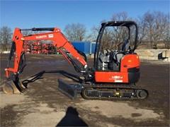 Excavator-Mini For Sale 2018 Kubota U35-4 , 24 HP