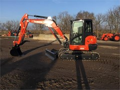 Excavator-Track For Sale 2020 Kubota KX057-4