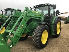 Tractor - Row Crop For Sale 2018 John Deere 6155R