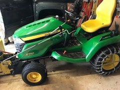 Riding Mower For Sale 2015 John Deere X590