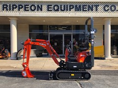 Excavator-Mini For Sale Kubota K008-3T4 , 10 HP