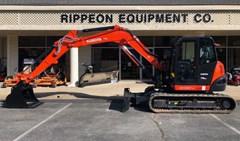 Excavator-Track For Sale Kubota KX080-4SR3A , 66 HP