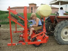 Planter For Sale 2020 Checchi & Magli WOLF 1 ROW HEMP TRANSPLANTER