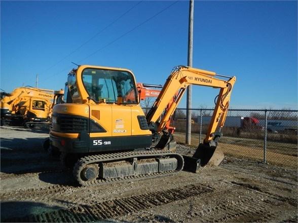 2017 Hyundai ROBEX 55-9A Excavator-Track For Sale
