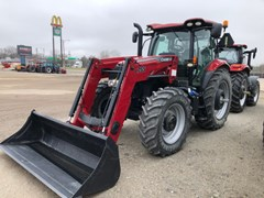 Tractor For Sale 2015 Case IH Maxxum 125 CVT , 125 HP