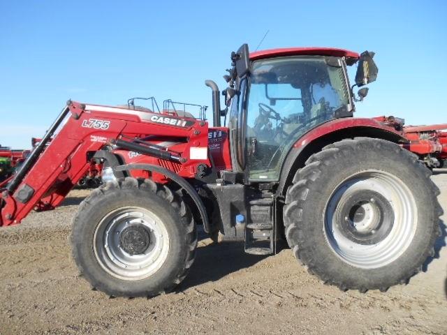 2015 Case IH MAXXUM 140 Tractor For Sale