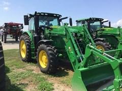 Tractor - Row Crop For Sale 2018 John Deere 6145R , 145 HP