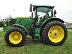 Tractor - Row Crop For Sale 2018 John Deere 6215R , 215 HP
