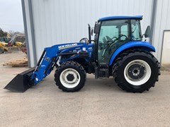 Tractor - 4WD For Sale:  2014 New Holland T4.75 , 75 HP
