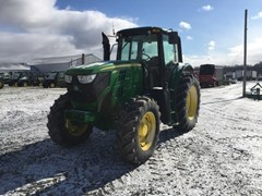 Tractor - Row Crop For Sale 2013 John Deere 6140M , 145 HP