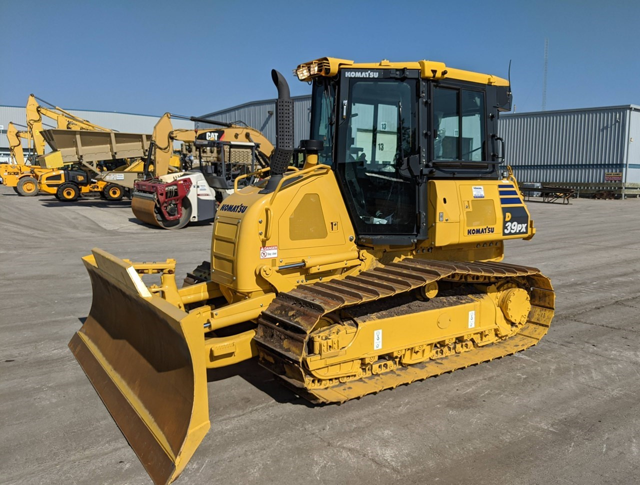 2018 Komatsu D39PX-24 Crawler Tractor For Sale