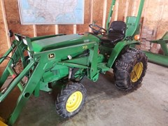 Tractor - Compact Utility For Sale 1998 John Deere 770 , 23 HP