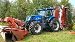 Tractor - Row Crop For Sale:  2017 New Holland T7.260 , 260 HP