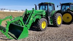 Tractor - Utility For Sale 2017 John Deere 6130M , 130 HP