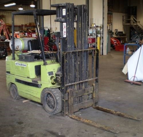 Mitsubishi FGC-25 Lift Truck/Fork Lift-Industrial For Sale