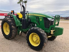Tractor For Sale 2016 John Deere 6105E , 105 HP