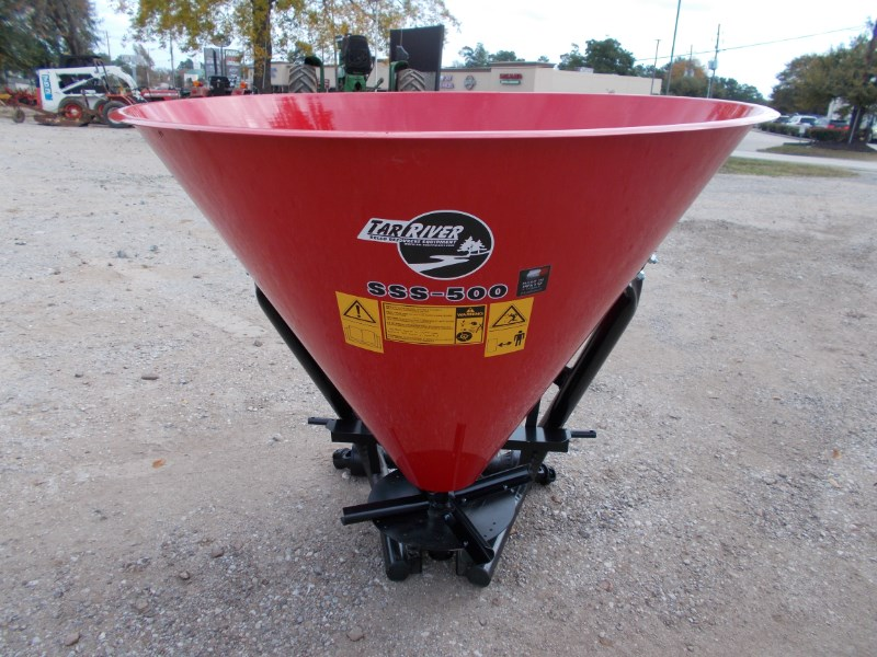 Tar River New 3pt metal cone seed / fertilizer spreader Fertilizer Spreader For Sale