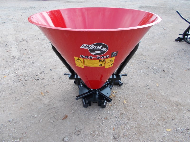 Tar River New 3pt metal cone seed / fertilizer spreader for  Fertilizer Spreader For Sale
