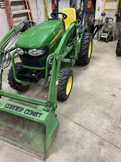 Tractor - Compact Utility For Sale 2014 John Deere 2025R , 25 HP