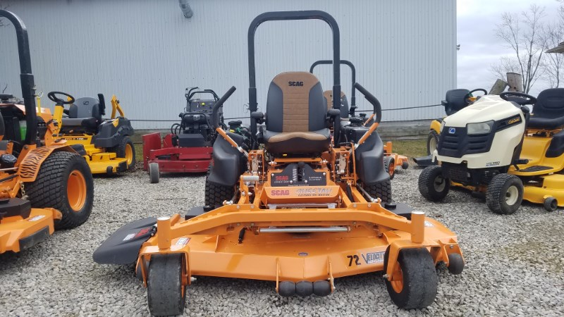 2019 Scag SCZ72V-37BV-EFI Zero Turn Mower For Sale
