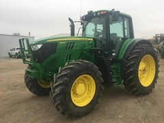 Tractor - Row Crop For Sale 2017 John Deere 6145M