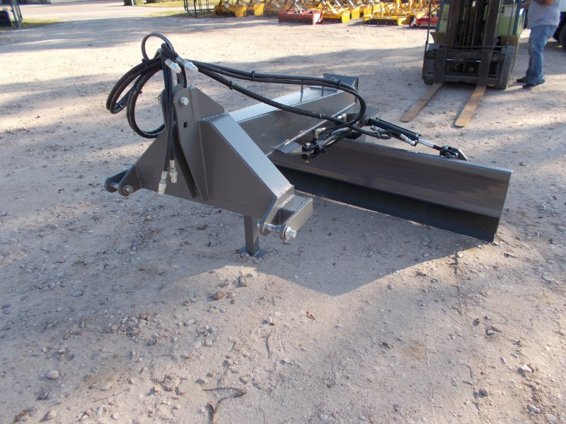 Tar River New Super Duty 3pt 8' six way hyd. grader blade Blade Rear-3 Point Hitch For Sale