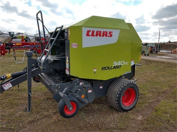 2017 CLAAS ROLLANT 340 Baler-Round For Sale