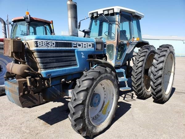 1991 Ford 8830 Tractor For Sale
