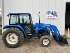 Tractor For Sale 1997 New Holland 6635 , 85 HP