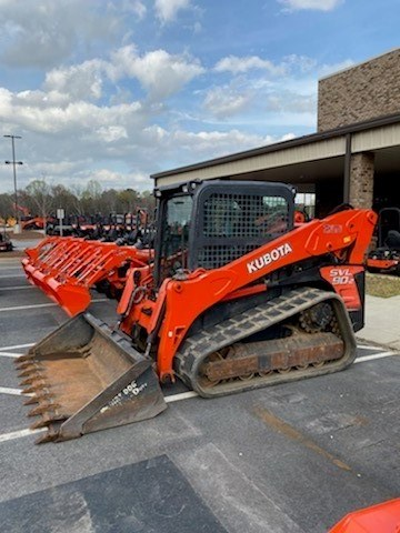 2014 Kubota SVL90-2HC Skid Steer-Track For Sale