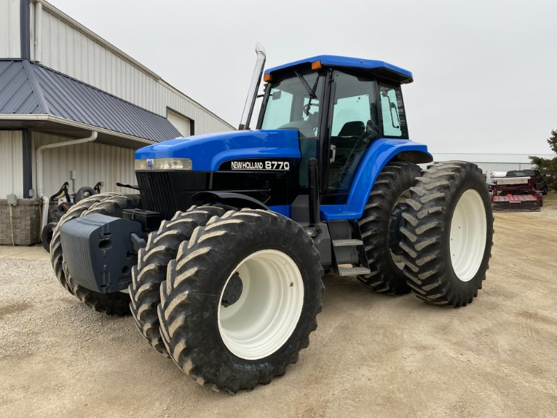 1998 New Holland 8770 Tractor For Sale