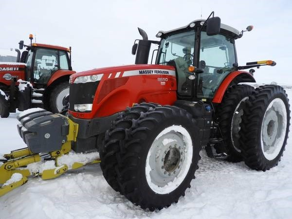 2013 Massey Ferguson 8650 Tractor For Sale