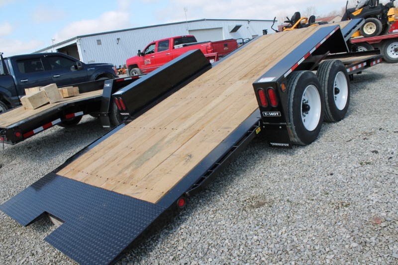 2020 Towmaster T-14DT Equipment Trailer For Sale