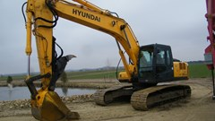 Excavator-Track For Sale 2008 Hyundai 250LC-7A , 175 HP