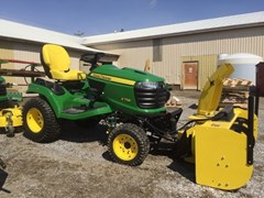 Riding Mower For Sale:  2018 John Deere X758 , 24 HP