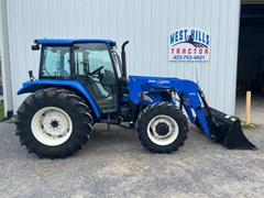 Tractor For Sale 2006 New Holland TL90A , 90 HP