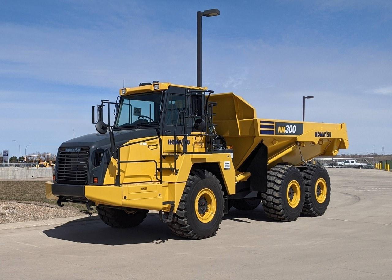 2020 Komatsu HM300-5 End Dump Truck For Sale