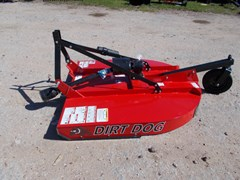 Rotary Cutter For Sale:  Dirt Dog New well made Dirt Dog 3pt 5' brush hog RC105