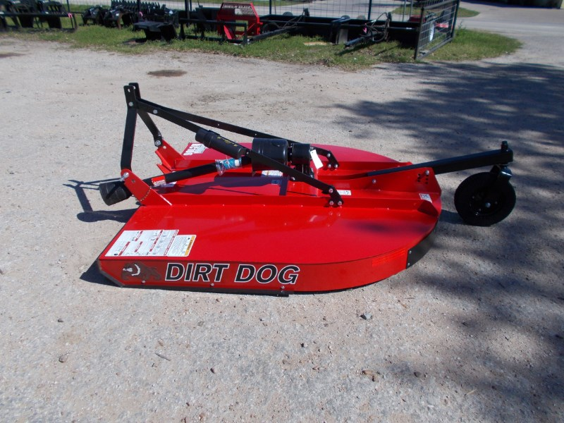 Dirt Dog New well made Dirt Dog 3pt 6' brush hog RC106 Rotary Cutter For Sale