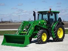Tractor - Utility For Sale 2017 John Deere 6120E , 120 HP