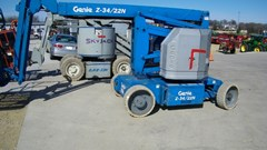 Boom Lift-Articulating For Sale Genie Z34-22N