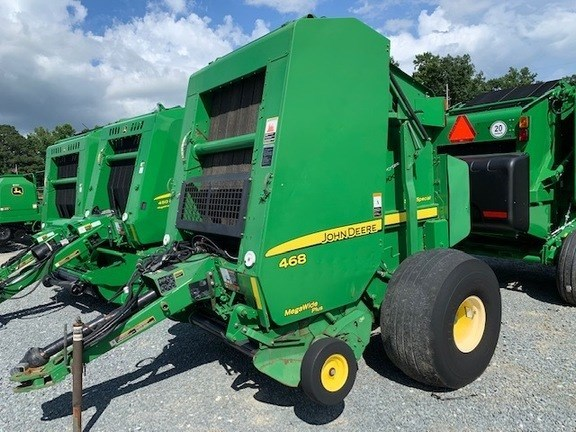 2012 John Deere 468 Baler-Round For Sale