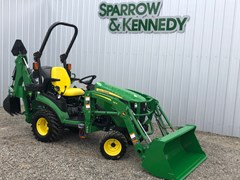 Tractor - Compact Utility For Sale 2020 John Deere 1025R BACKHOE , 25 HP