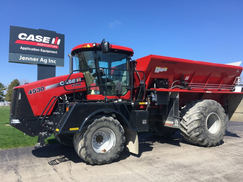 2014 Case IH 4530/NL L5034G4 Manure Spreader-Dry/Truck Mounted For Sale