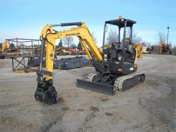 2019 New Holland E30C Excavator-Mini For Sale