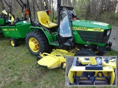Tractor - Compact Utility For Sale 2001 John Deere 4100 package , 20 HP