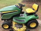 Riding Mower For Sale:   John Deere X360